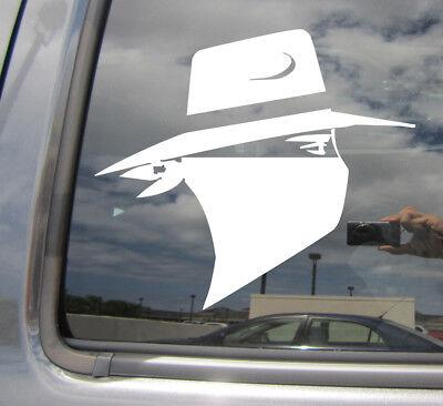 Cowboy-Western Texas John Wayne paniolo Coche Vinilo Autoadhesivo Con Ventana 10143