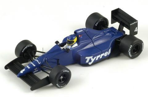 Spark 1 43 Tyrrell 018 Mexican GP 1989  4 M. Alboreto from Japan