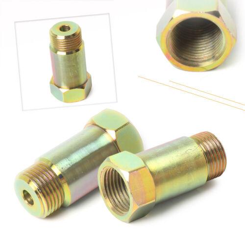 2PCS O2 Oxygen Sensor Extension Spacer Adapter Fix 45mm M18 x 1.5 ht ha
