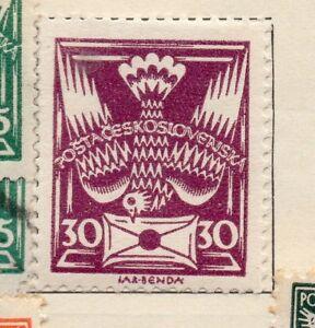 Czechoslovakia-1920-Early-Issue-Fine-Mint-Hinged-30f-236195