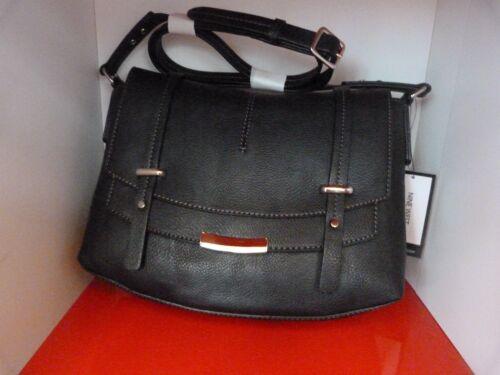 CLOSING DOWN SALE BLACK SHOULDER // GRAB BAG . NINE WEST HANDBAG . £95 RRP .