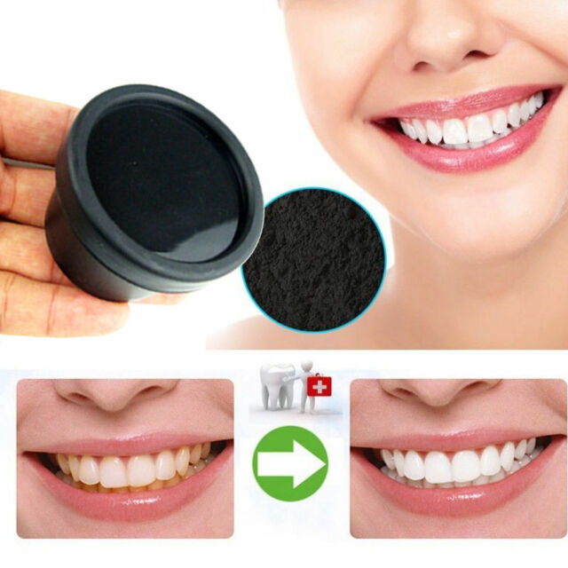 100% Natural Whitening Tooth Powder Bamboo Charcoal Activated Toothpaste Carbon