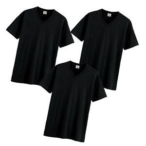 MEN/'S WHITE V NECK T-SHIRT XL SIZE HEAVYWEIGHT SHORT SLEEVE OUTERWEAR 1 OR 3 PK
