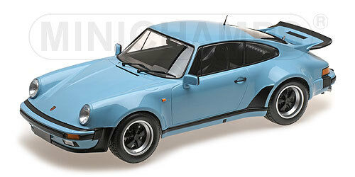 Minichamps 125066105 Porsche 911 Turbo 1977 Gulf bluee 1 12 in
