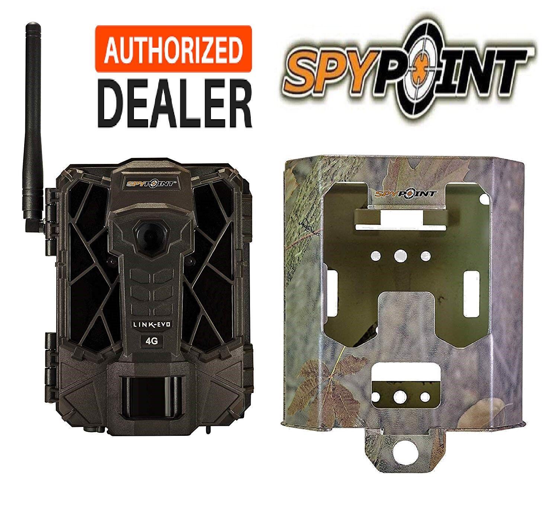GG Telecom LINK-EVO Verizon Spypoint V Cellular 4G 12mp Trail Camera w  Case Box