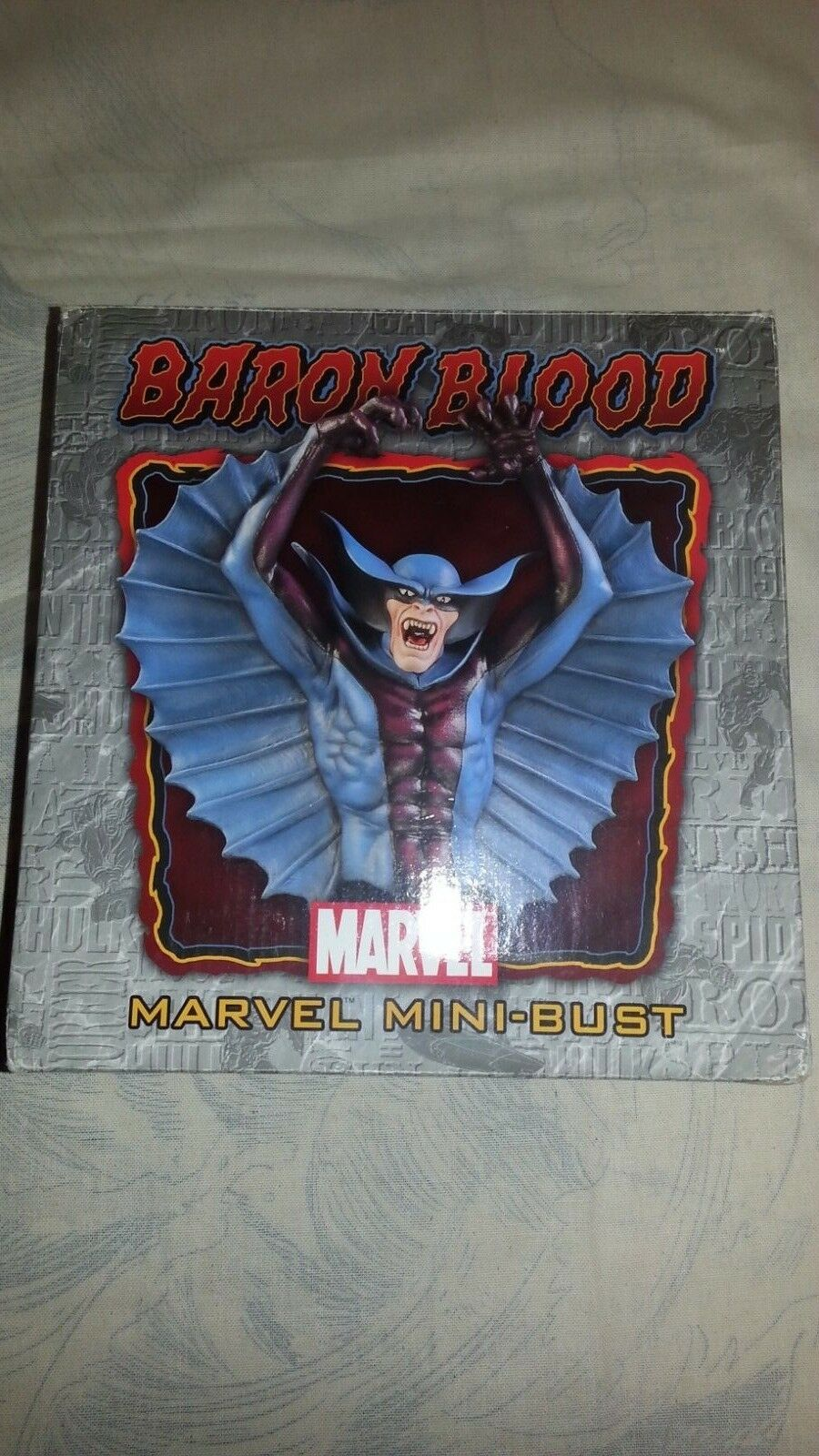 Baron Blaut marvel mini - pleite copia numerata 0373   1500 mark newman - af1