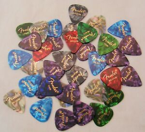 Fender-351-Premium-Celluloid-Guitar-Picks-24-Variety-Pack-Thin-Med-and-Heavy