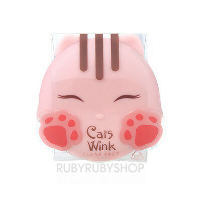 [TONYMOLY] Cat Wink Clear Pact - #2 Clear Beige