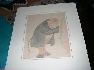 Great watercolor  Illustration by James Affleck Shepherd.. J.A.S