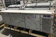 Randell Npr2r3280 Refrigerated Raised Pizza Rail Prep Table 2 Door Amp 2 Drawer