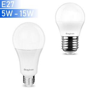 E27-LED-Leuchmittel-Gluehbirne-Birnenform-Lampe-5W-8W-10W-12W-15W-Leuchte