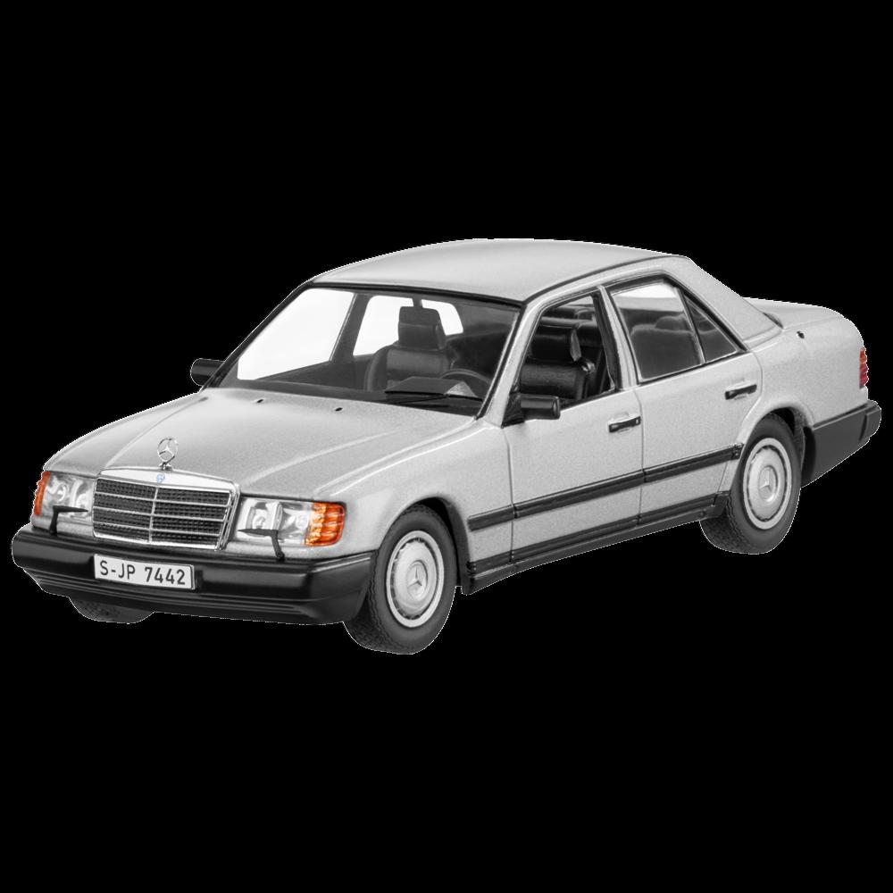 Mercedes - benz w 124 - e - klasse 300e mila silber 1 43 neu ovp