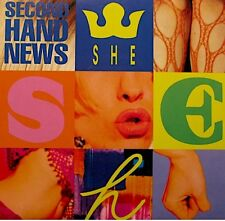 ++SHE second hand news/stop SP 1992 BABY RECORDS RARE EX++