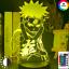 thumbnail 2 - Anime 3d Lamp Naruto Sasuke Kakashi Hinata Obito Itachi Acrylic LED Light Remote