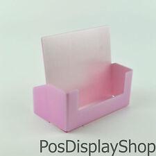 5 x Candy / Baby / Light Pink A5 Leaflet Dispenser / Brochure Holder