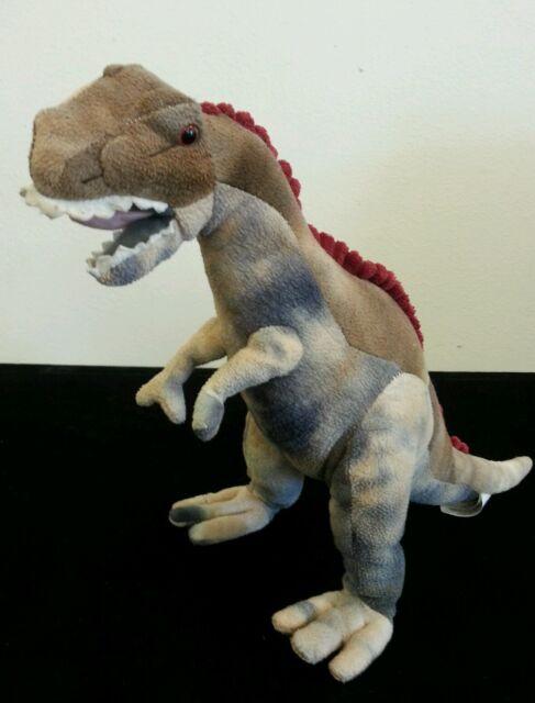 Fiesta Toys Dino Bed Time Stuffed Plush Animal Toys Cute