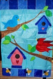 Birds-and-Birdhouses-Prestige-Estate-House-Flag-Premier-Huge-36-034-x-54-034