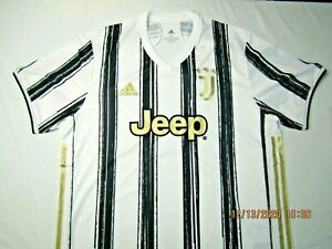 Details about NWT Adidas 2020-21 Juventus AUTHENTIC Home Jersey White-Black- size XL msrp $140