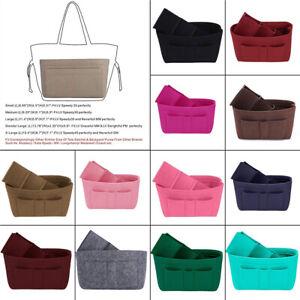 fd907180fcac Felt Insert Bag Organizer Bag In Bag For Handbag Purse Organizer 13 ...