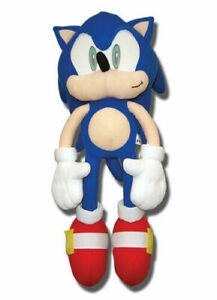 Great Eastern Sonic The Hedgehog 20 Plush Ge 7099 Authentic New Ebay
