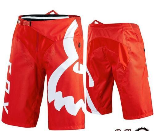Fox Racing Demo Fox Shorts Men/'s MTB DH Mountain Bike Shorts Summer 2020 UK NEW