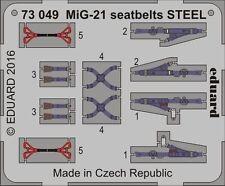 EDUARD 1/72 Mikoyan MiG-21 SEDILE cinghie ACCIAIO #73049