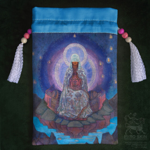 "Silk Tarot bag ""Mother of the world"""