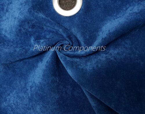 Sofá de tapicería Decoración Cortinas De Terciopelo Nápoles Tela disponible en 10 Colores
