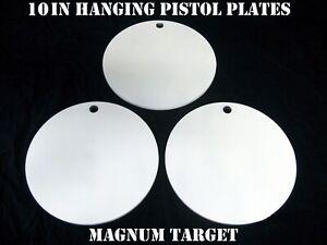 8 Inch Diameter Steel Target-Plate Steel Shooting Target-Steel Pistol Target-1pc
