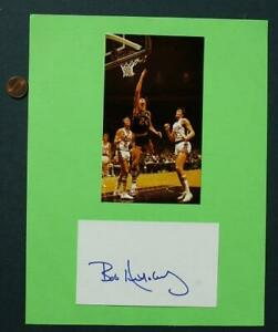 ABA-Indiana-Pacers-All-star-Bob-Netolicky-signed-autographed-card-amp-photo-NETO