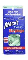 Macks Original Soft Foam Earplugs 30 Pair Free Shipping