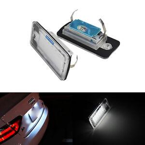 FEUX-ECLAIRAGE-DE-PLAQUE-LED-BLANC-XENON-LUMIERE-AUDI-A3-8P-Sportback-A4-A5-Q7