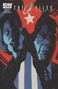 X-Files-Season-10-24-IDW-Cover-A-1ST-PRINT-THE-TRUTH-IS-OUT-THERE