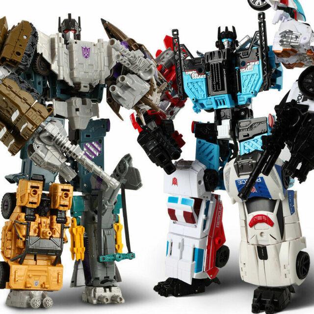 Transformed Complete Defensor Bruticus Combiner Wars 30cm Figure Holiday Gifts