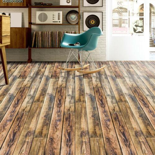 Self Adhesive Tile Floor Wall Sticker Paper DIY Home Kitchen Room Decor Vinyl L