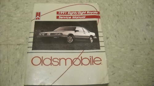 1991 Olds OLDSMOBILE Eighty Eight 88 Royale Service Repair Shop Manual FACTORY