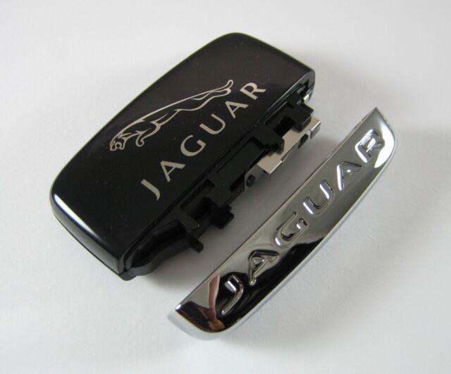 Jaguar Remote Smart Key Remote Replacement Chrome Trim Cap for XE XF XJ Genuine