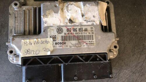 2013-2016 Volkswagen VW Jetta ecm ecu computer 06G 906 055 AA