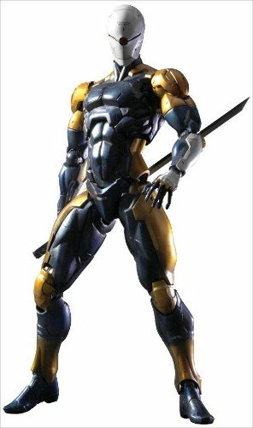 Play Arts Kai De Metal Gear Solid Figura De Acción Ninja Cyborg SQUARE ENIX Muñeca de PVC