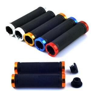 1-Pair-BMX-MTB-Bike-Mountain-Bicycle-Handle-Handlebar-Soft-Rubber-Bar-End-Grips