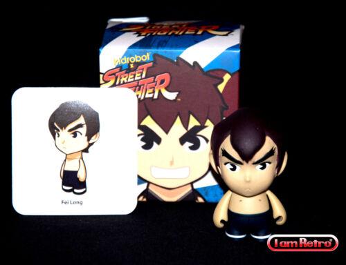 Fei Long - Street Fighter Series 2 - Kidrobot - 3 Figure Brand New in Box Mint