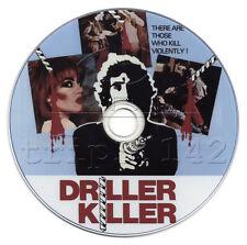 The Driller Killer (1979) Drama, Horror, Thriller Film/Movie on DVD