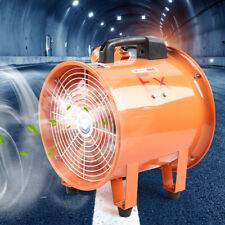 New Listing10 Pipe Spray Booth Paint Fumes Exhaust Blower Fan Explosion Proof Axial Fan Us