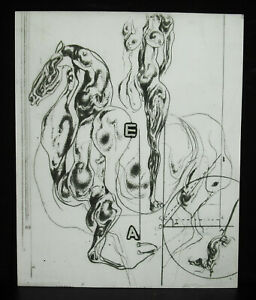 Luben-Dimanov-1933-Print-Horse-And-Naked-Woman-Attached-1977