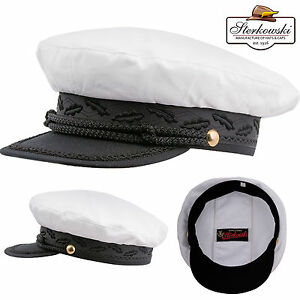 dc419d35c22e3e Image is loading Summer-Peaked-Yachting-Kashubia-Visor-Cap-Mariner-Skippers-