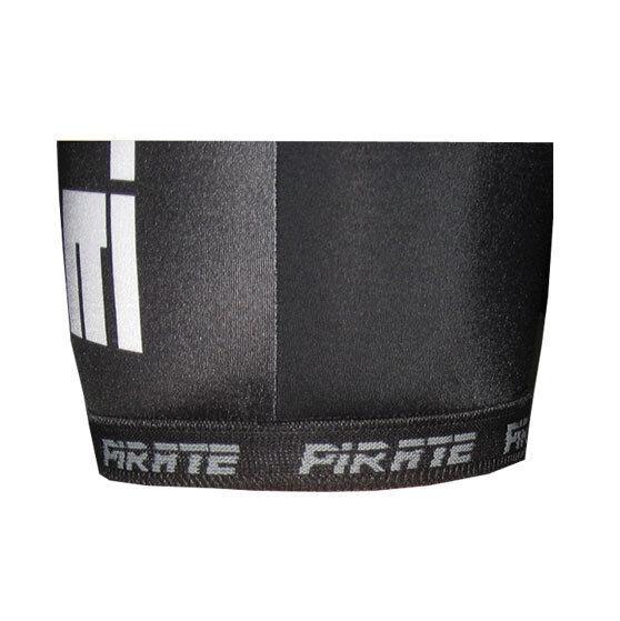 Pirate 3/4 Hose mit schwarz, Trägern schwarz, mit Pirat, Skull, Totenkopf e02054