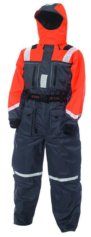 KINETIC Schwimmanzug - Flotation Suit, Größen XS - XXXL XXXL - in der Farbe Orange/Grau 91864d