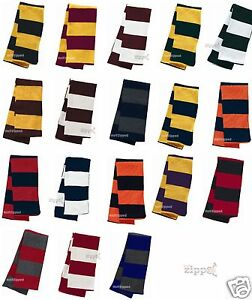 999994f96b6 Rugby Striped Knit Scarf School TEAM COLORS SCARVES SP02 WHOLESALE ...