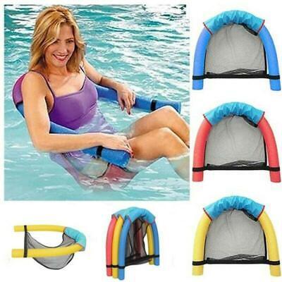 Floating Pool Chair Mesh Seats Hammock Noodle Sling Swimming Net Float Seat UK
