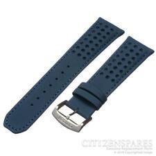 Original Citizen 23mm At8020-03l H800-s081165 Blue Angels Leather Band Strap